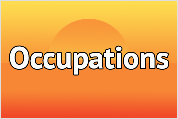 Occupations iOS app